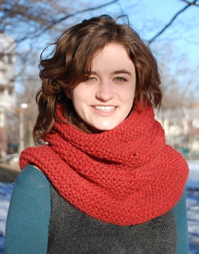 Free Knitting Pattern Hooded Neck Warmer : Pinterest   The world s catalog of ideas