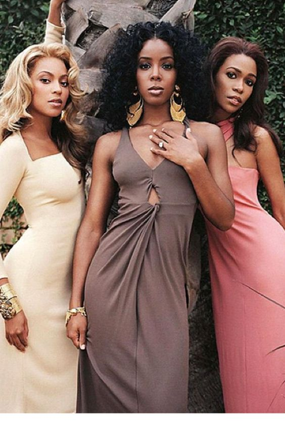 Destinys Child - beyonce, kelly and michelle
