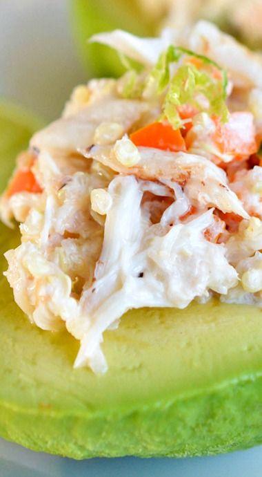 ... and Quinoa Salad Stuffed Avocados | Recipe | Posts, Quinoa and Salads