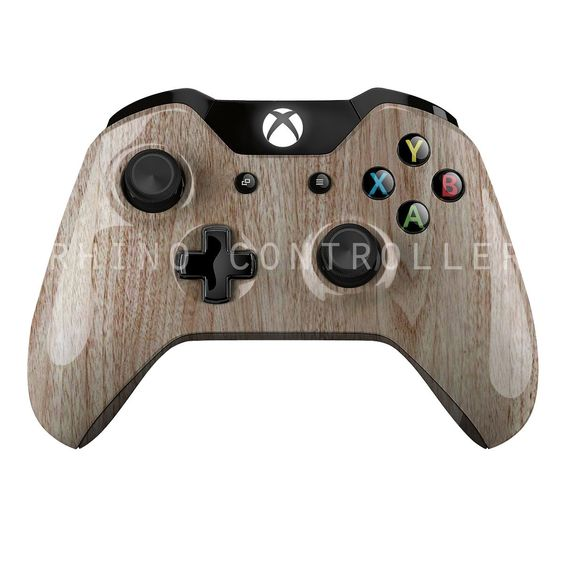 Custom XBOX One controller Wireless Glossy WTP-113-Wood-Grain Custom Painted