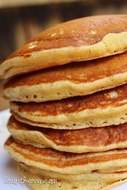 thk: fluffy buttermilk pancakes