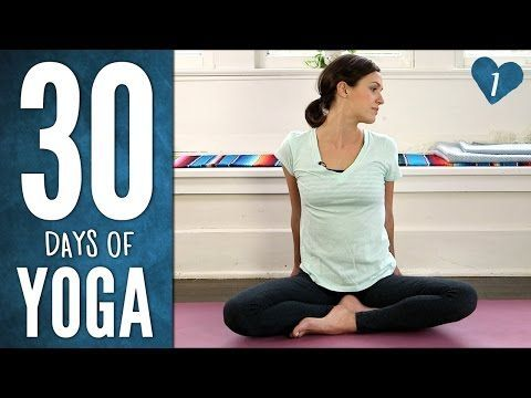 Day 1 - Ease Into It - 30 Days of Yoga - YouTube Just started back on some yoga and this is an excellent challenge I started yesterday. Fingers crossed on finishing the 30 days challenge.