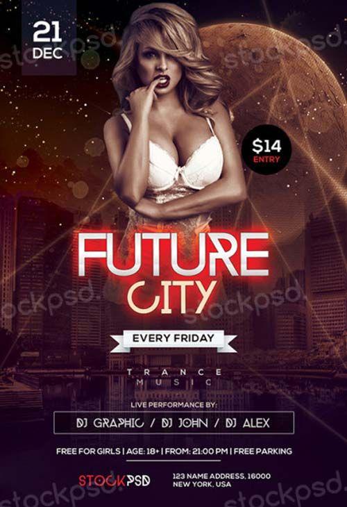 Future City Free PSD Flyer Template - http://freepsdflyer.com/future-city-free-psd-flyer-template/ Enjoy downloading the Future City Free PSD Flyer Template created by Stockpsd!  #Club, #Dj, #EDM, #Electro, #Nightclub, #Party