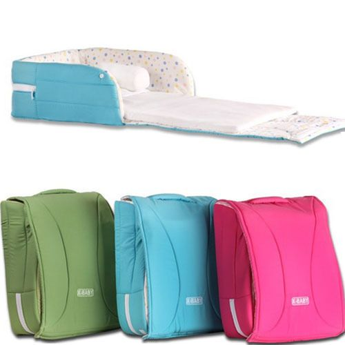 Hot New Baby Portable Folding Bedding Crib Toddler Kids Cot Playpen For Travel