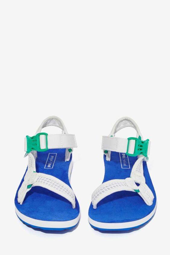 Nasty Gal x Teva Goin' Mobile Mesh Sandal - Flats | Shoes
