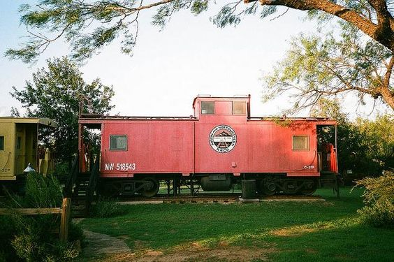Tripbucket Sleep In A Caboose At Antlers Hotel Kingsland Texas Places To Stay Pinterest And Hill Country