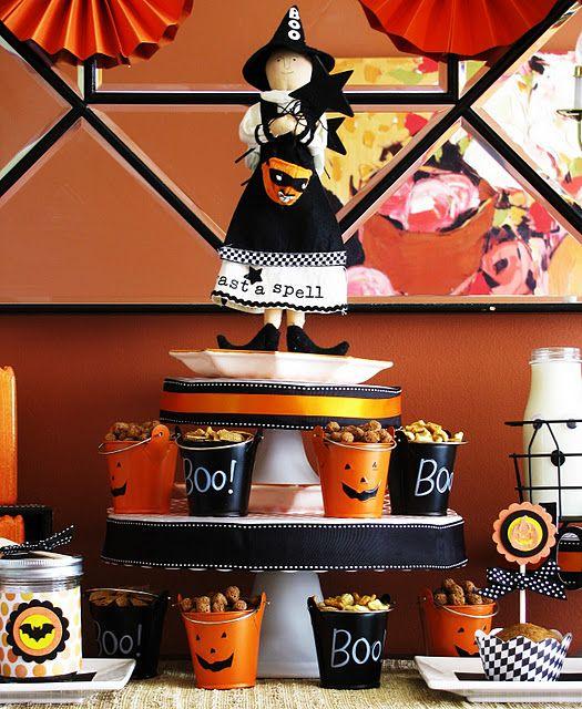 Halloween BOOfast {Breakfast} Party!