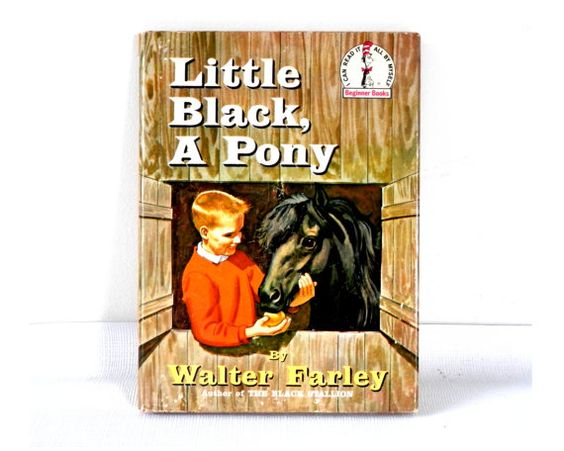 1961 Little Black A Pony 1st Edition with Dust by Walter Farley