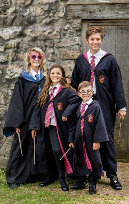 Harry Potter Halloween Costumes 2020 Karneval Kostüm Gruppe in 2020 | Harry potter halloween costumes