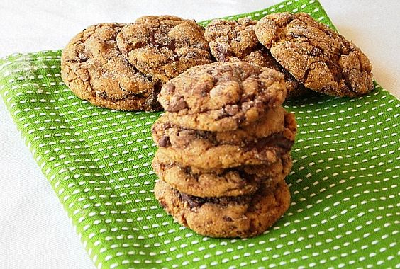 Ginger Chocolate Cookies