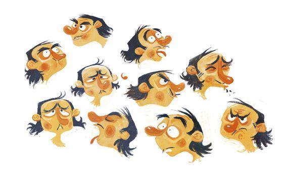 Detective Exploration . character design . stevie lewis