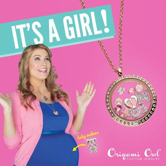 A gender themed Living Locket is perfect for the mom-to-be in your life!  Www.amandabryce.OrigamiOwl.com