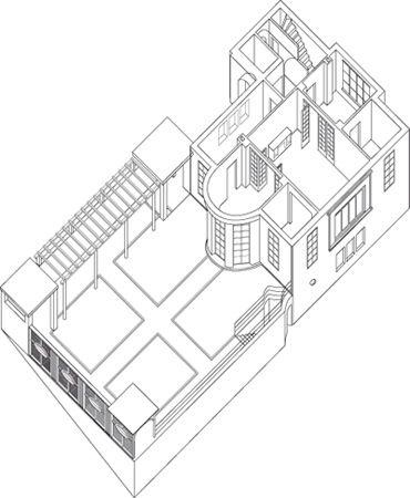 Association maison blanche le corbusier the house le for Association maison eymard