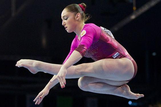 Times' 50 Olympic Athletes to watch - Gymnastics - Aliya Mustafina (Russia)