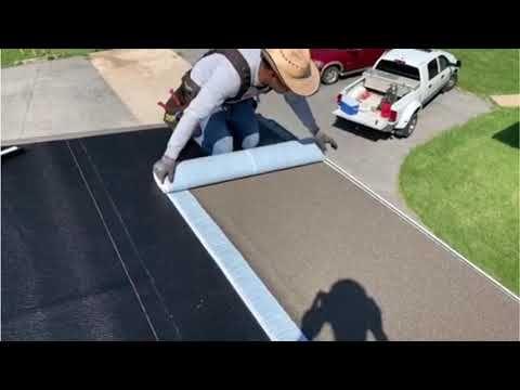 Como Hacer Un Techo Plano How To Do A Flat Roof Roofing Flat Roof Roofing Plano