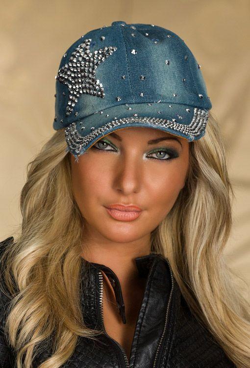Gorra fashion denim star www.sexydiversity.com