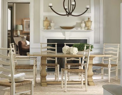 Lake Tahoe Dining Table from Somerset Bay #paintedfurniture