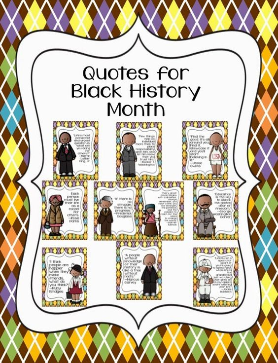 Black history month quotes, Black history month and History on ...