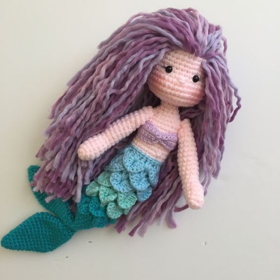 Mini Owl Amigurumi Pattern : Sweet crochet mermaid ? ? Crochet Knit Mermaids ...
