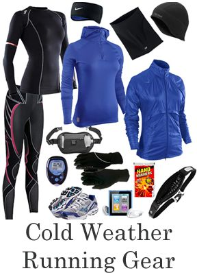 Cold weather running gear ... will it ever end????
