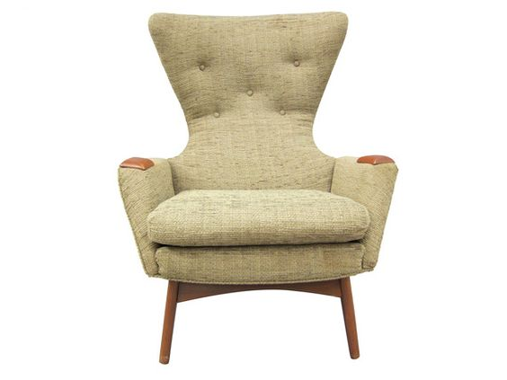 Vintage-wingback-chair-lounge-chairs-upholstery-wood