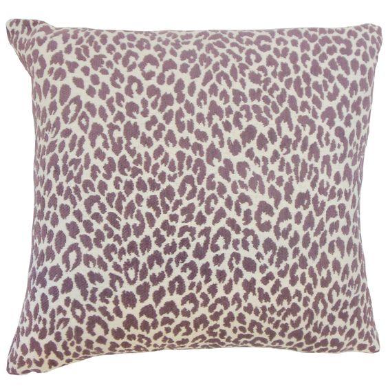 Pesach Animal Print Throw Pillow