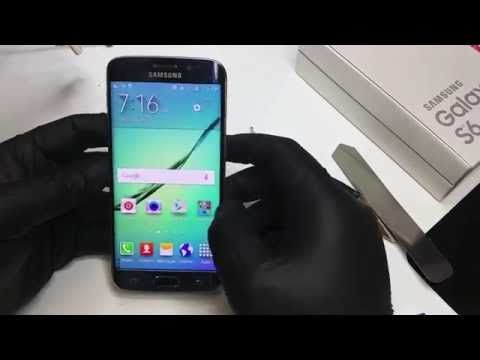 Galaxy S6 Edge screen replacement - YouTube @lizcnkr