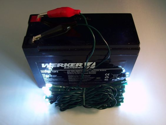 12 volt led ice fishing lights - battery powered super bright led, Reel Combo