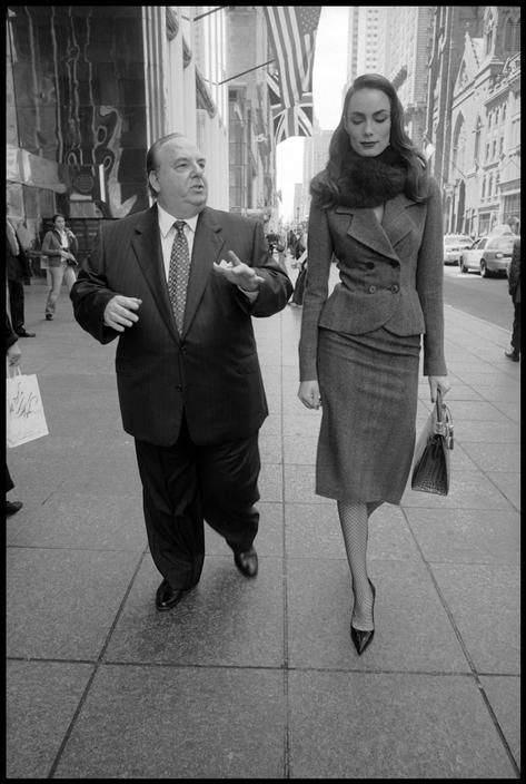 Bruce Gilden  USA. New York City. 2004. Bill BARNETT and Adrijana DEJANOVIC.