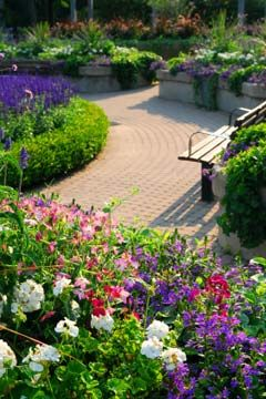 Deck and Patio Decor - make your pathway interesting! www.citybeautifullandscaping.com