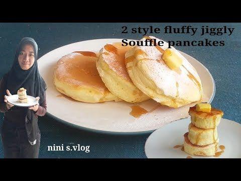 Super Fluffy Japanese Pancake Recipe Souffle Pancake Youtube Kue Dadar Resep Makanan Kue