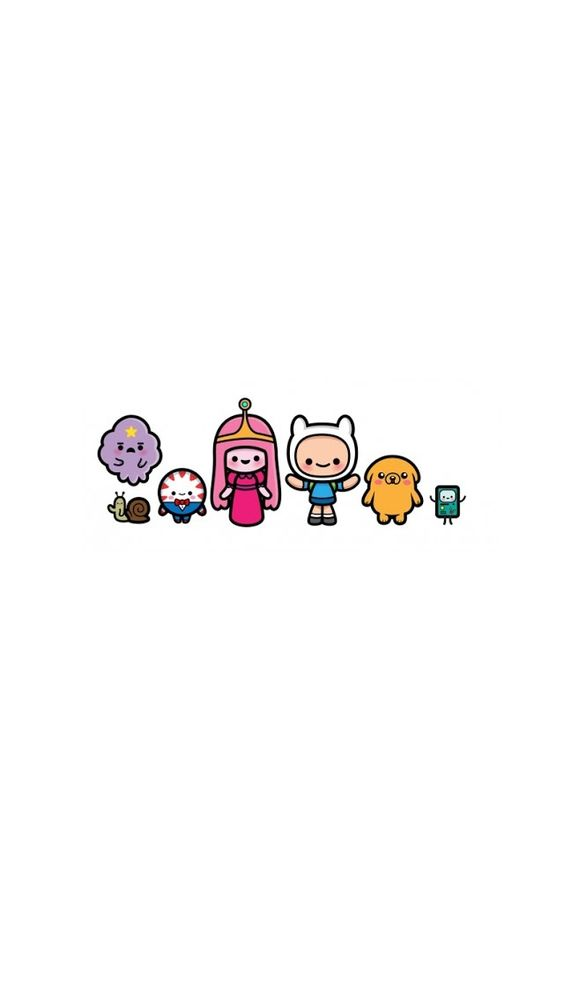 iPhone 5 Wallpaper // Cartoon // Adventure Time