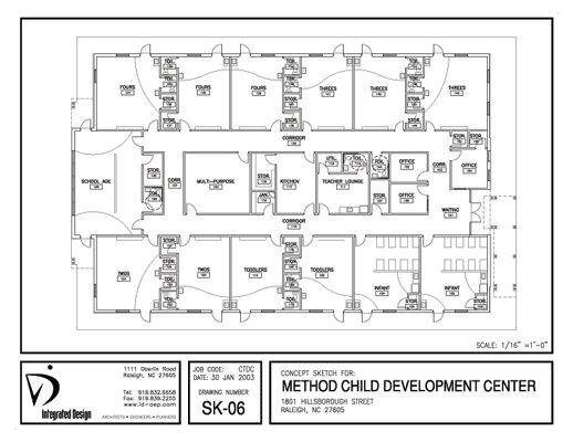 Method Child Development Center, Originally Located In The
