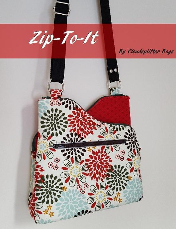 Bag patterns, Crossbody bags and Sewing patterns