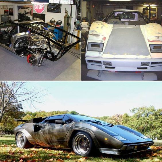 A Man Spent 17 Years Building A Lamborghini From Scratch