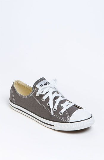 Converse Chuck Taylor® 'Dainty' Sneaker (Women) | Nordstrom- in charcoal: