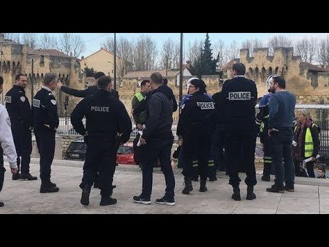Arrestation Calomnieuse D Abdel Zahiri Commissariat Avignon