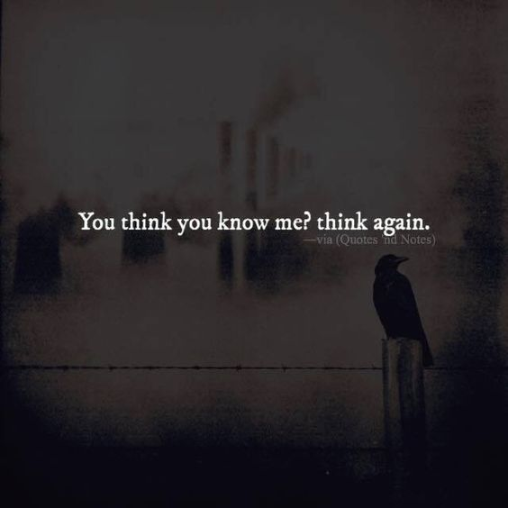 You think you know me. Think again. via (http://ift.tt/2dcBcE1)