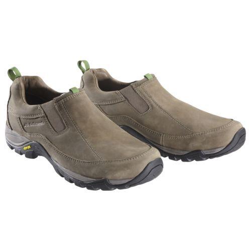 Kathmandu-Forbes-Mens-Waterproof-Leather-Vibram-Slip-On-Walking-Shoes-Brown