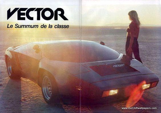 Whether you're a car aficionado or not. Vector has quite a unique history as a car company.
