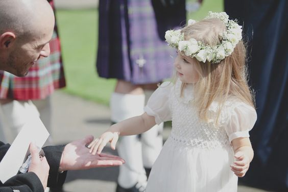 cutest flower girl ever? // photo by Mirrorbox Photography