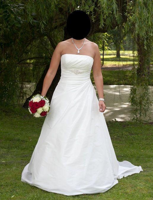 ♥ Brautkleid Marylise Whitney 2, Gr. 38, weiß, mit Perlen, Strass ♥  Ansehen: http://www.brautboerse.de/brautkleid-verkaufen/brautkleid-marylise-whitney-2-gr-38-weiss-mit-perlen-strass/   #Brautkleider #Hochzeit #Wedding