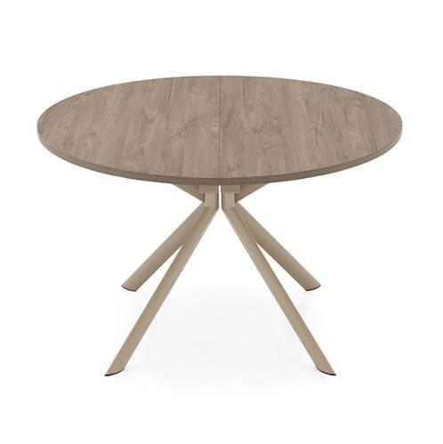 Table Ronde Design Bois Pied M Tal Central Sur Cdc Design Table