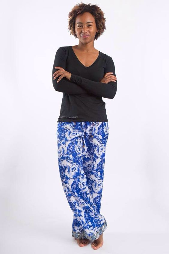 New Punjammies Was Created By The International Princess Project, And Is A Bright Line Of Lounge Pants Created By Women In India Who Were Once Forced Into Prostitution After A Woman Escapes From Prostitution, It Is Difficult For Her To Be