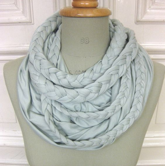 Scarfs, Infinity scarfs and Infinity on Pinterest