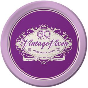 60 Vintage Vixen Dinner Plates