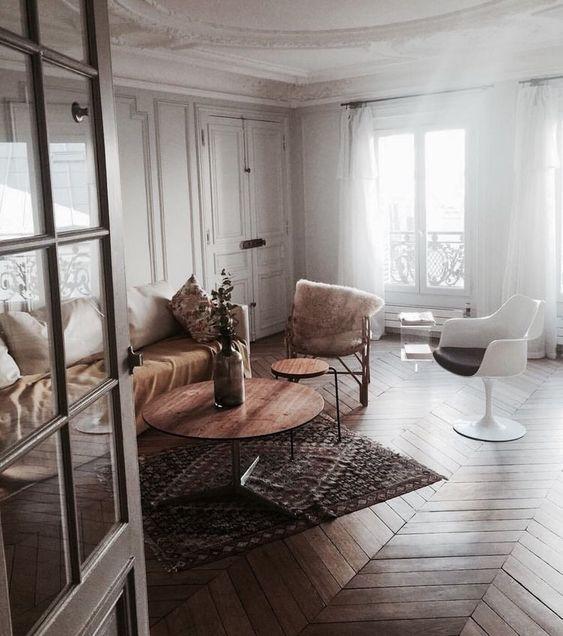 décoration intérieure loft parisien