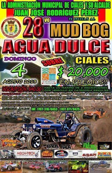 28vo Mud Dog Agua Dulce @ Ciales #sondeaquipr #muddog #aguadluce #ciales
