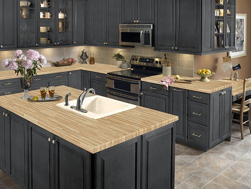 Wilsonart Hd S Truss Maple Can Add The Look Of Butcher Block Without Maintenance Countertops Kitchen 41 Lumber Top This