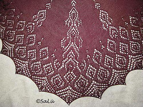 Ravelry: Tuch/Shawl *Anna* pattern by Birgit Freyer